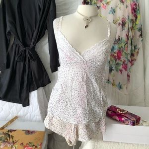 Victoria Secret cami and short pj set
